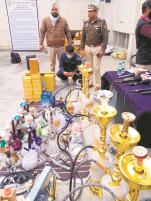 Big catch: Mohali cops nail hookah peddler