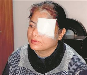 Synthetic string leaves college lecturer injured in Amritsar