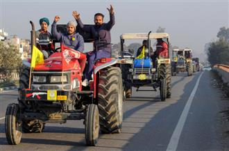 NRIs make last-minute efforts to mobilise public for tractor march