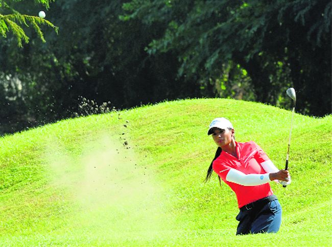 Hero Women's Pro Golf Tour: Amandeep Drall takes lead on Day 1