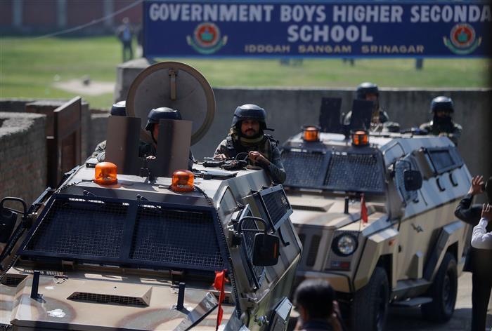 Massive crackdown in J-K after civilian killings; forces detain 700 'terrorist sympathisers'