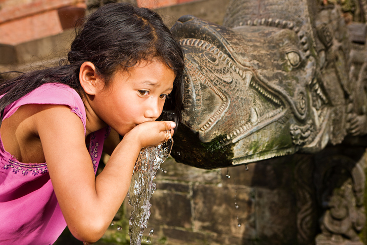 As Nepal runs dry, communities tap water harvesting