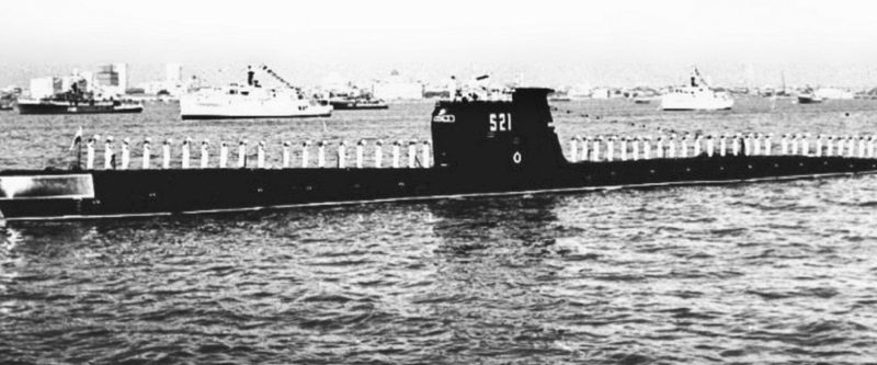 How submarine operations stood out in 1971 war