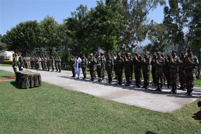 J-K: Army bids farewell to soldiers martyred in counter-terrorism operation