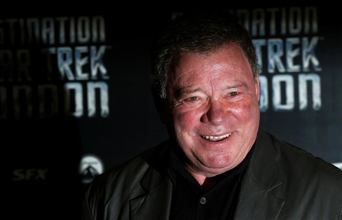 90-year-old William Shatner, TV's Capt Kirk, blasts into space