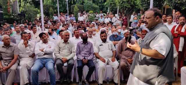 Jolt to NC: Devender Rana resigns; may join BJP this week