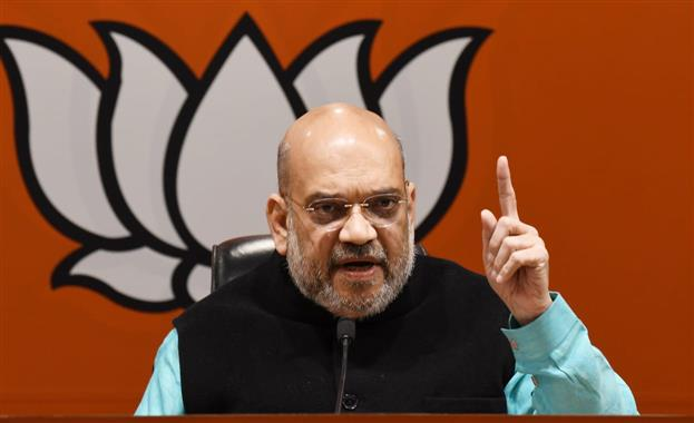Amit Shah holds 'strategy meeting' with senior leaders at party's 'war room'