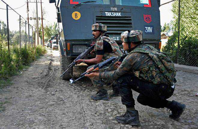 In anti-militancy operations in J-K, 7 militants killed since Monday night