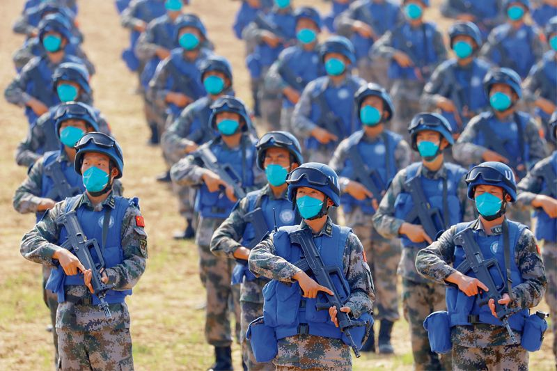 All not quiet on Chinese front