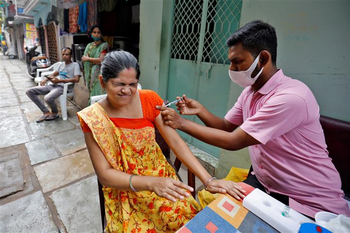 Over 96 crore Covid vaccines administered in India: Govt