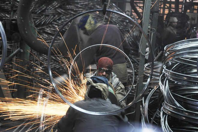 Factory output up 11.9%  in Aug on low-base effect