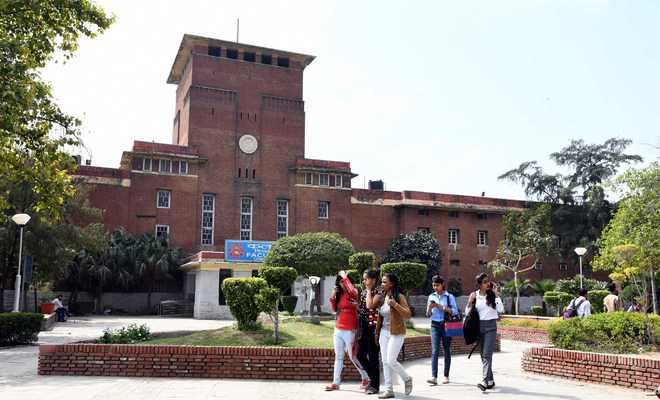 Nearly half of DU seats filled after admissions under first cut-off