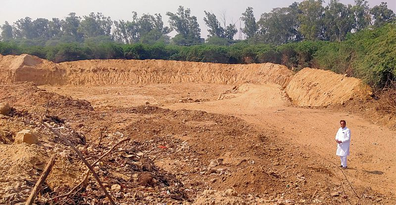 Row over soil extracted for beautification project in Patiala