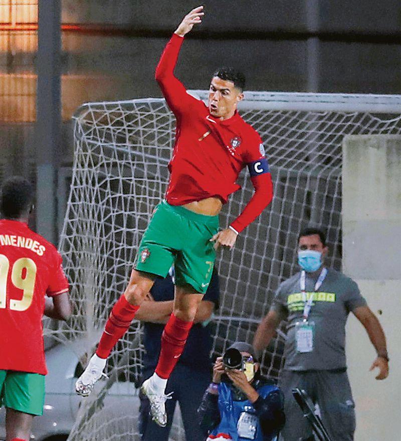 Man on fire: CR7 grabs record 10th international hat-trick