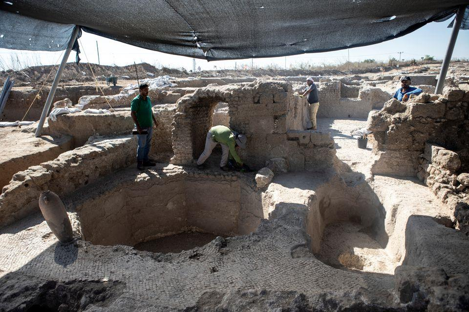 Ancient factory exposes secrets of winemaking in the Holy Land