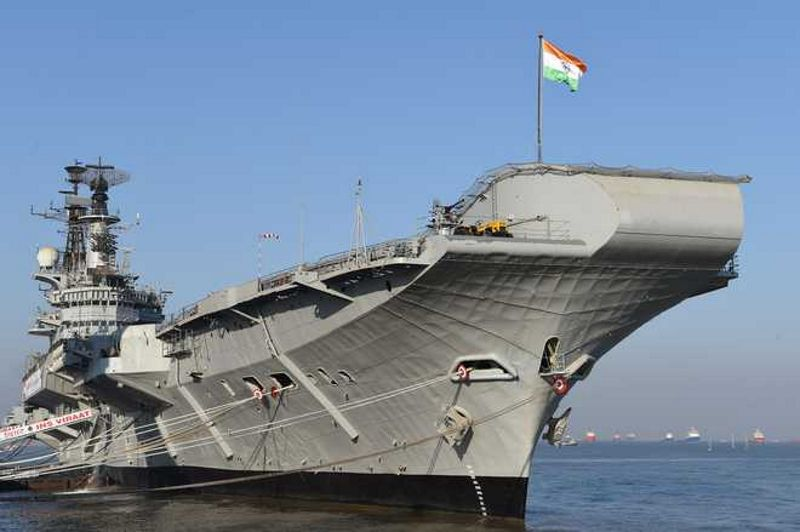 Aboard the old INS Vikrant