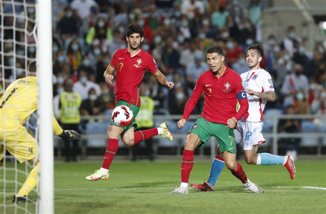 Cristiano Ronaldo scores hat trick, Denmark qualifies for World Cup