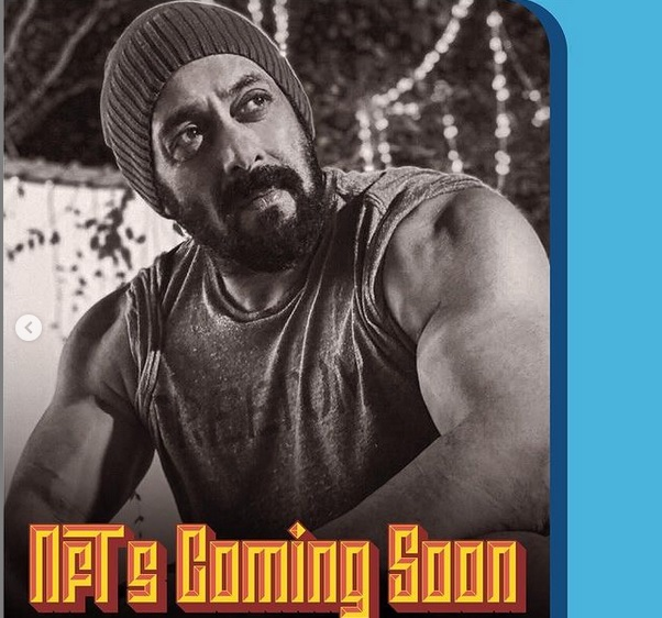 Salman Khan to now launch his NFT collection