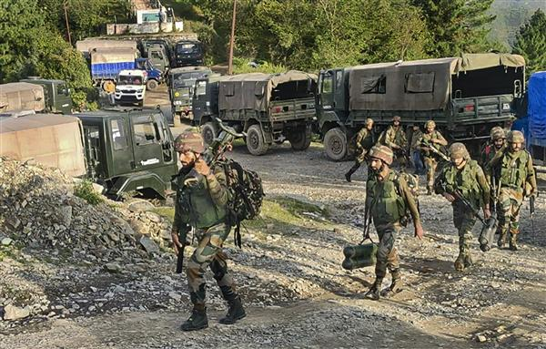 5 Army personnel killed in gunfight with terrorists in J-K's Poonch