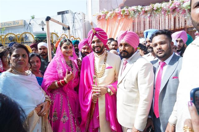 Punjab CM's security breached at his son's wedding, 4 suspended