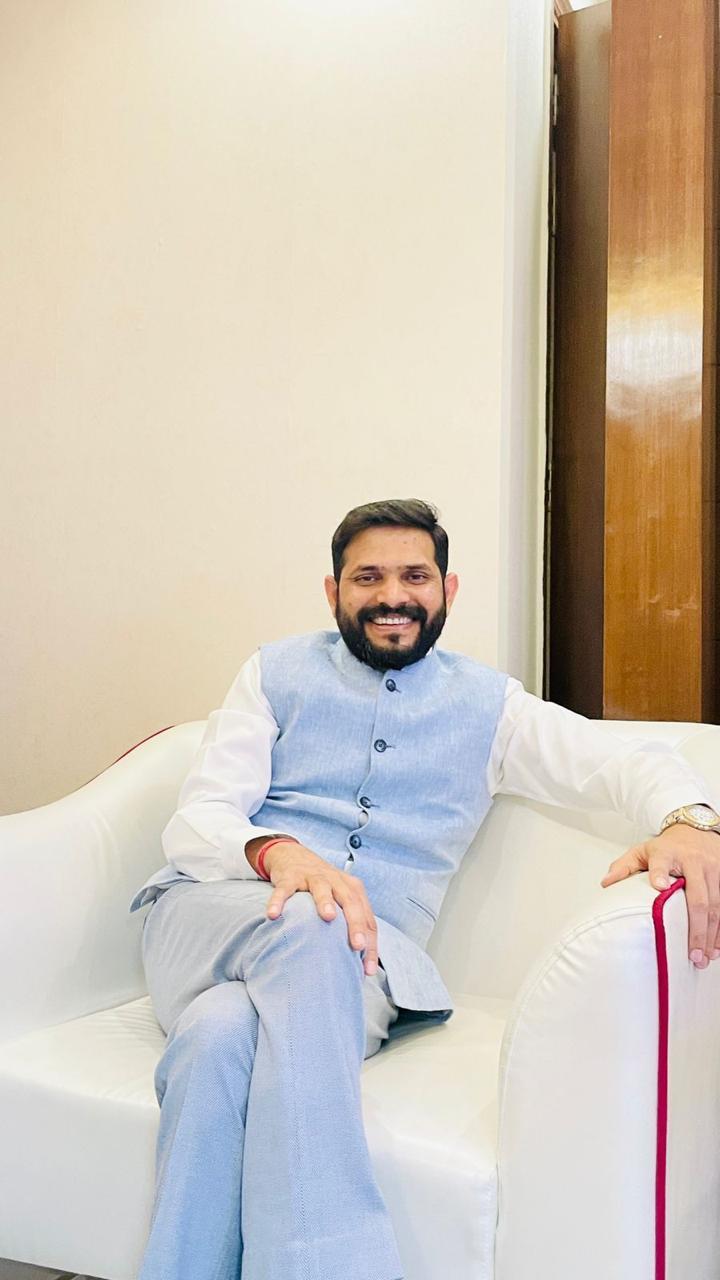 Dr. Brajesh Yadav : A man with a golden heart