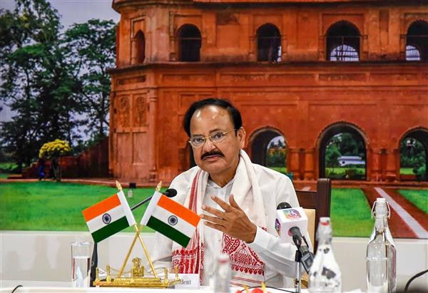 India strongly rejects China's objection to Vice President Venkaiah Naidu's Arunachal visit