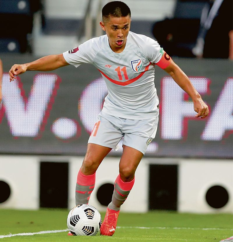 Man for all seasons: Sunil Chhetri's double fires India into SAFF Championships final