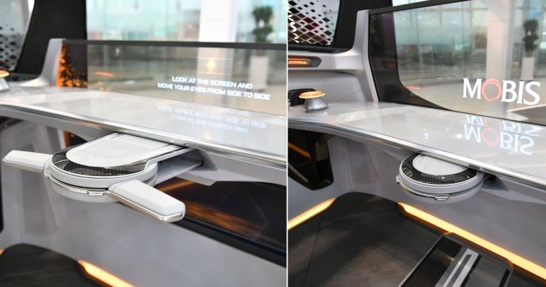 Foldable steering wheel for future vehicles arriving soon