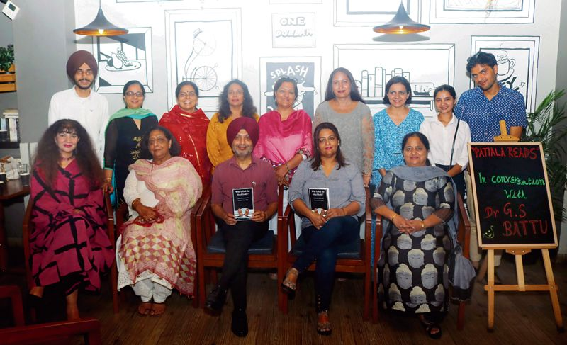 Members of female book club interact with writer, share tips