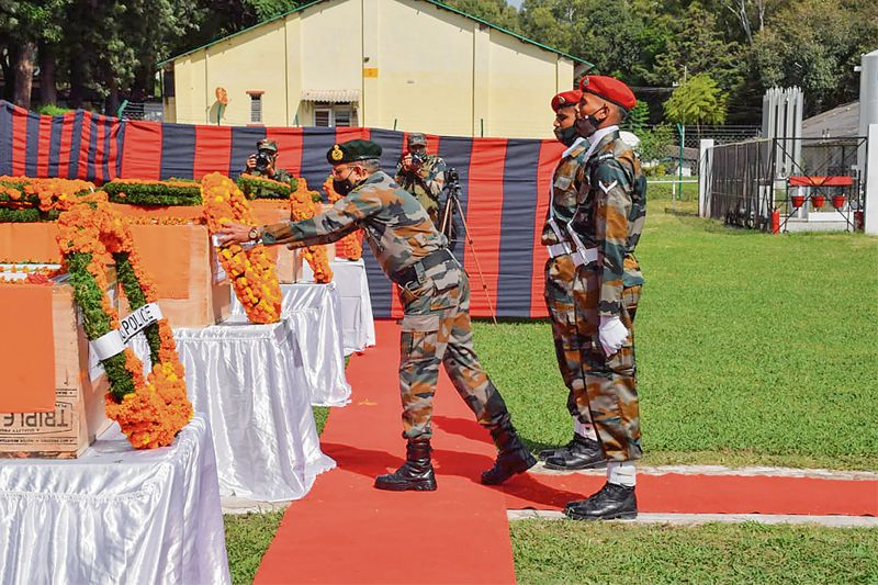 Wreath-laying ceremony for Poonch martyrs