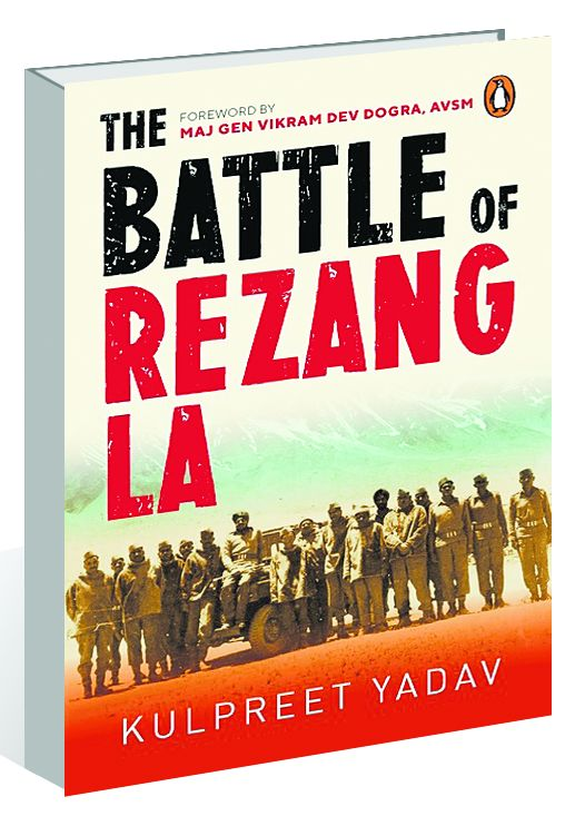 Kulpreet Yadav recounts historic battle of Rezang La