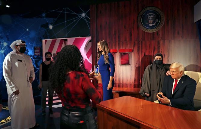 Trump stars in Madame Tussauds branch in Dubai 1st Mideast
