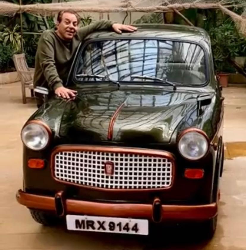 Dharmendra's journey from Eastern Star cycle to a Fiat he bought 60 years ago; actor shares video of his 'baby'. Guess the price