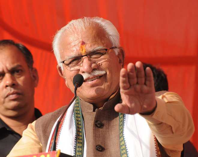 Petition against Haryana CM's speech to come up on October 27