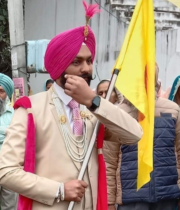 Ropar soldier had carried farmers' flag at his recent marriage; now, his body returns wrapped in Tricolour