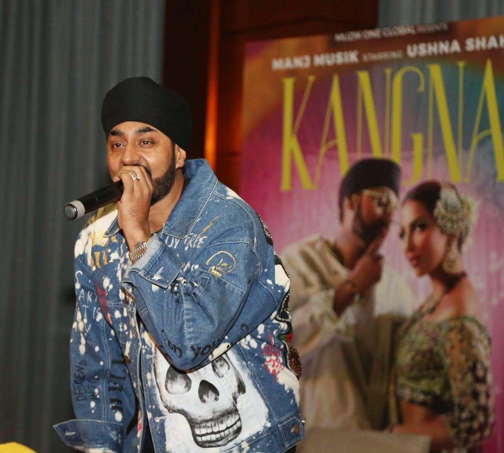 Composer Manj Musik releases his first single 'Kangna'