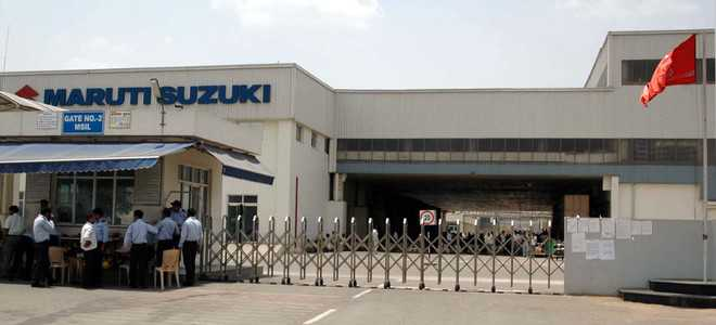 Maruti records over two-fold decline in Sept production
