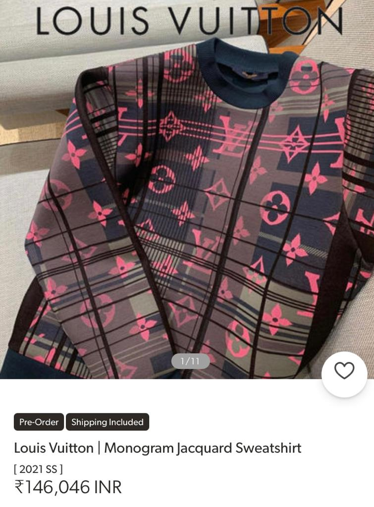 Pic: Neeraj Chopra's Louis Vuitton sweatshirt costs as much as his imported  javelin