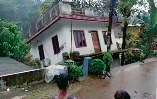 No lessons learnt from past flood disasters