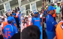 Mohammad Shami confronts a Pakistani fan after Champions Trophy loss in 2017. Watch how the pacer reacts to 'baap kaun hai' comment
