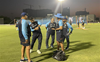 India's team mentor MS Dhoni joins squad for T20 World Cup campaign