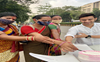Guneet Sharma celebrates his birthday with the transgender community