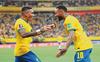 Neymar finally finds joy in Brazil shirt