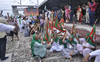 LIVE: Protesters sit on rail tracks in Punjab, Haryana; commuters hit