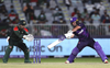 Greaves hits 45 as Scotland recover to post 140/9