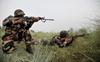 Soldier, four ultras gunned down in J&K