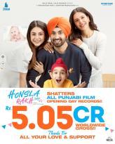 The Shehnaaz Gill, Diljit Dosanjh and Sonam Bajwa-starrer 'Honsla Rakh' breaks all Punjabi film opening records