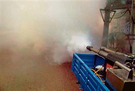 Dengue on rise, Chandigarh Municipal Corporation has just one fogging machine