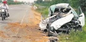 3 University students die as car rams into truck at Rajpura
