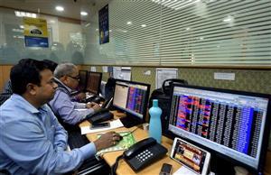 Sensex drops 336 points; Nifty ends below 18,200